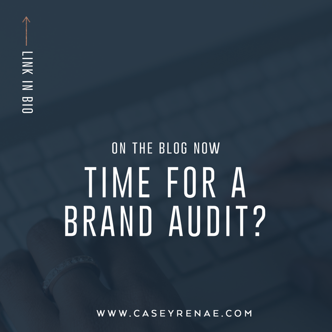 Time for a Brand Audit?