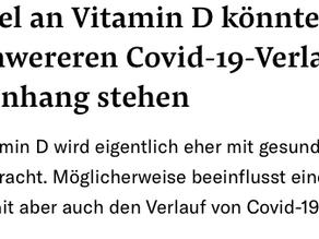 Vitamin D und CoVid