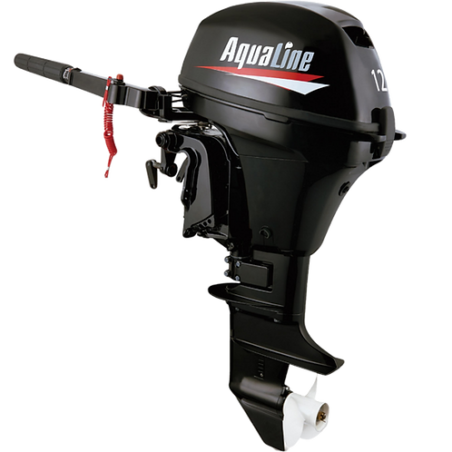 AquaLine® 12hp Outboard Motor 4-Stroke