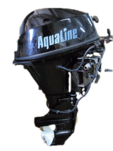AquaLine® 25hp Outboard 4-Stroke/Tiller/Electric Start