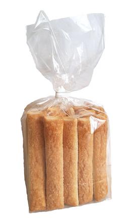Слоёные палочки с сахаром