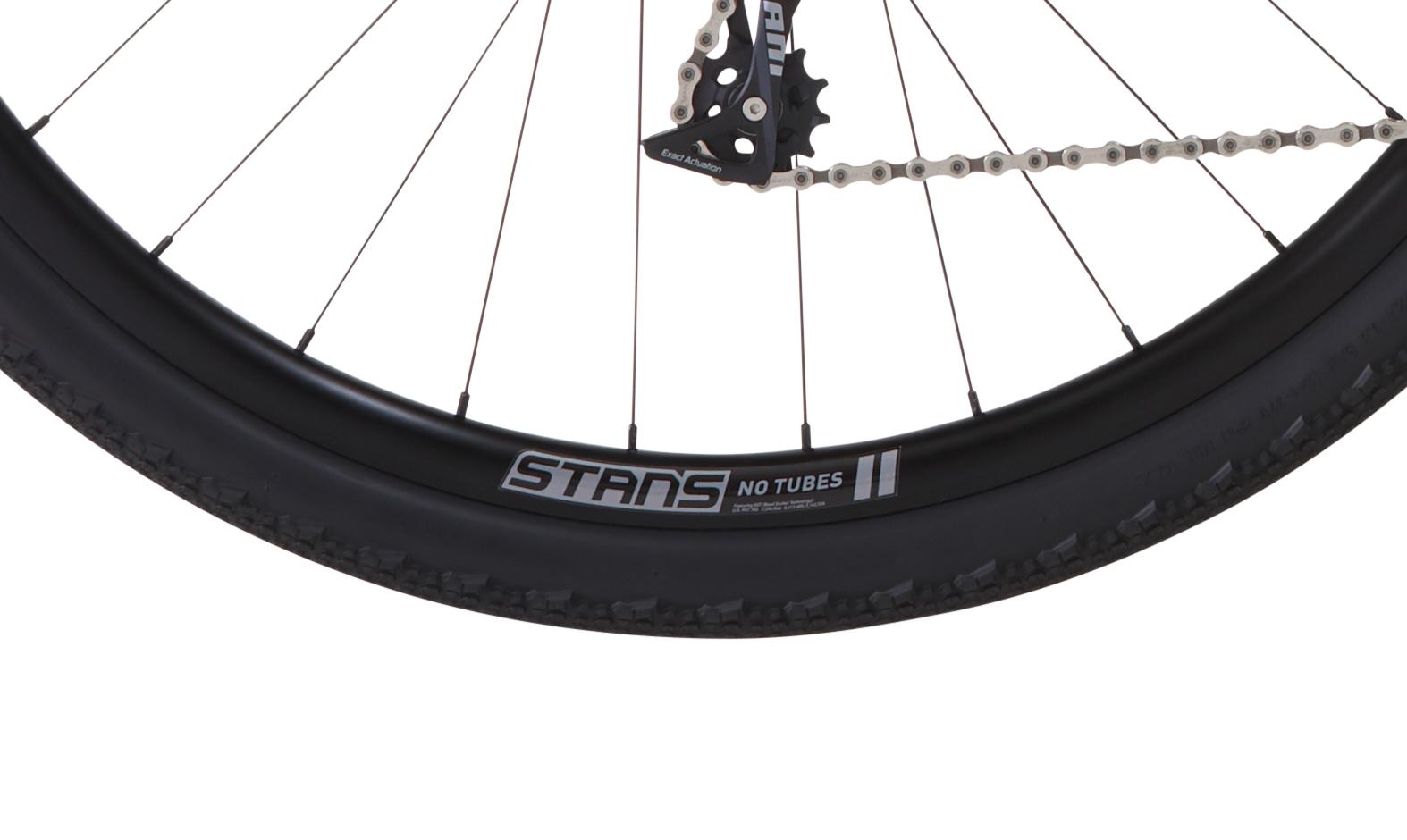 GX5 Stans wheel detail