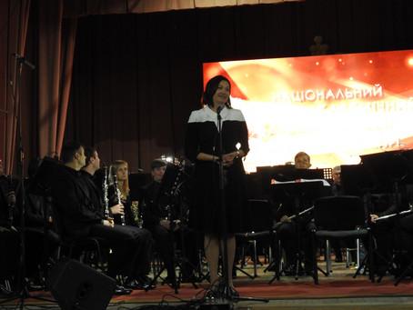 «Планета Голівуд». У Маневичах «відгримів» концерт Національного академічного духового оркестру Укра