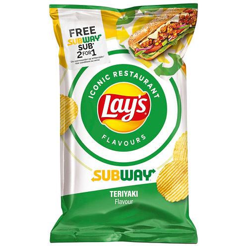 Lay's Subway Teriyaki Chips