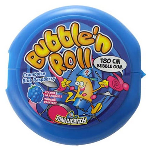 Bubble 'n Roll Framboos gum