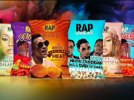 Rap Snacks ''The Official Snack of Hip Hop''