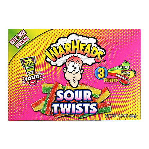 Warheads Sour Twists Theatre