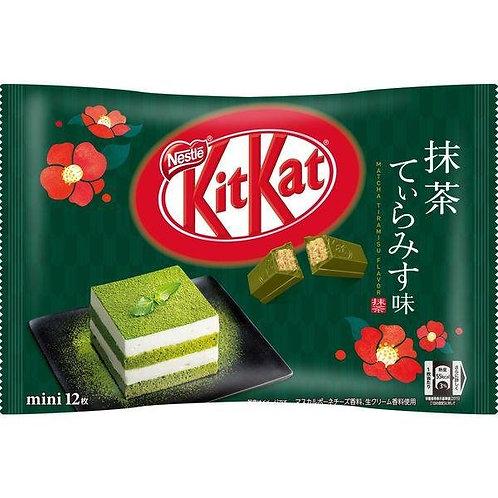 Japanese KitKat Matcha Tiramisu