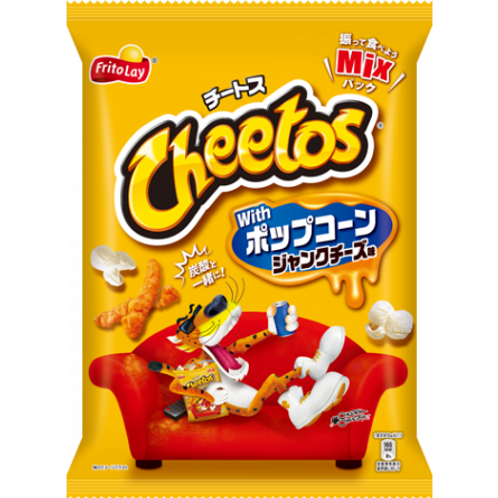 Cheetos with Popcorn Junk Cheese XL