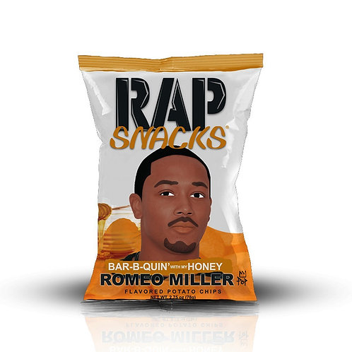 Rap Snacks Romeo Miller chips