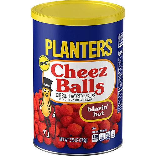 Planters Cheez Balls Blazin' Hot