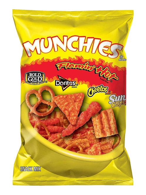 Munchies Flamin' HotSnack Mix