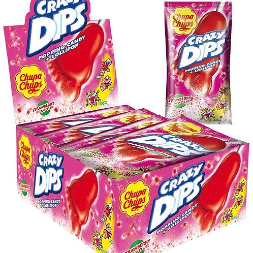 Crazy Dips Strawberry (24st.)
