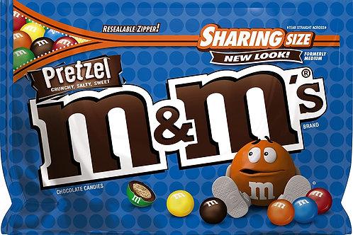 M&M's Pretzel Sharing Size