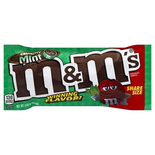 M&M's Crunchy Mint Sharing size