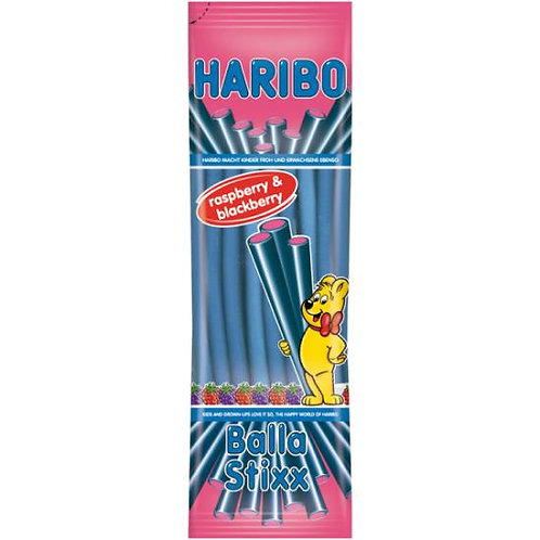 Haribo Balla Stixx Raspberry