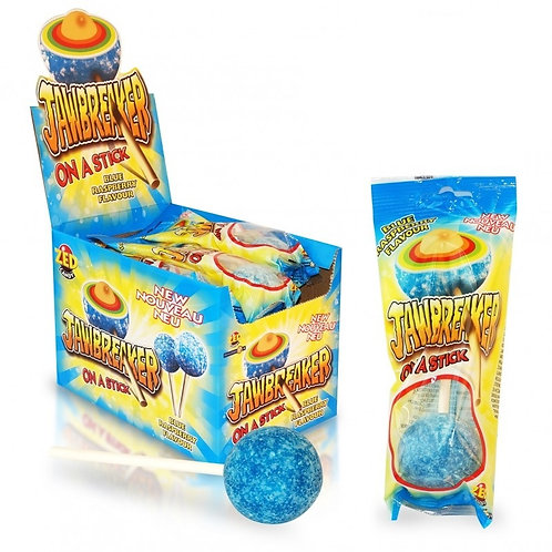 Jawbreaker On a Stick Blue Raspberry