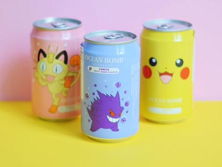 Kleurrijke Pokémon Dranken