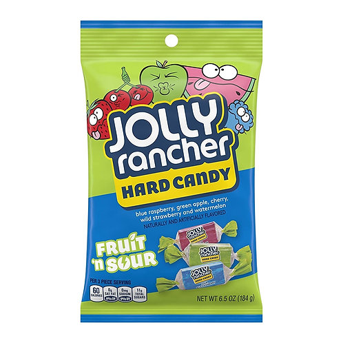 Jolly Rancher Hard Candy Fruit n Sour 184gr
