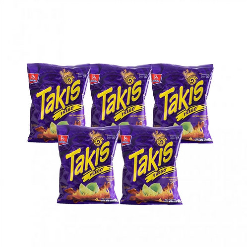 Takis Fuego 5-pack