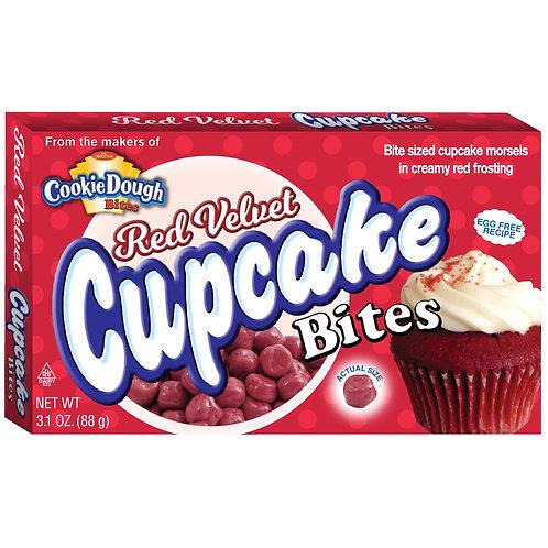Cookie Dough Red Velvet Bites