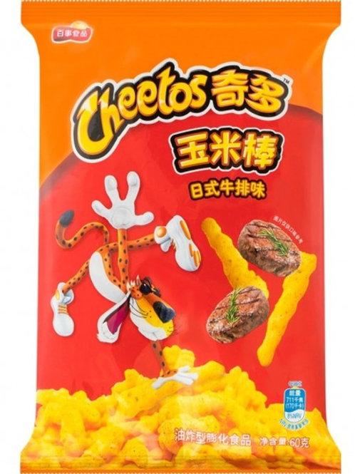 Cheetos Corn Cob Japanese Steak Flavor