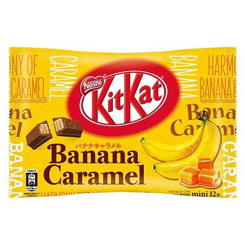 Japanese KitKat Banana Caramel