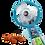 Thumbnail: Frozen Fun & Fruity Squeezie Fan Display (10st)