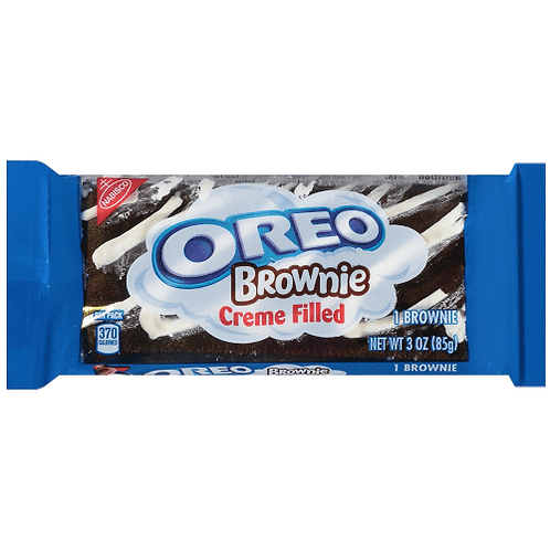 Oreo Creme Filled Brownie