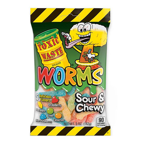 Toxic Waste Worms bag