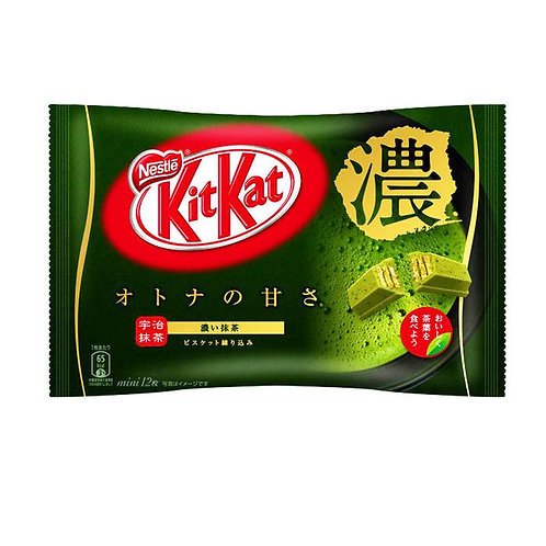 Japanese KitKat Rich Matcha