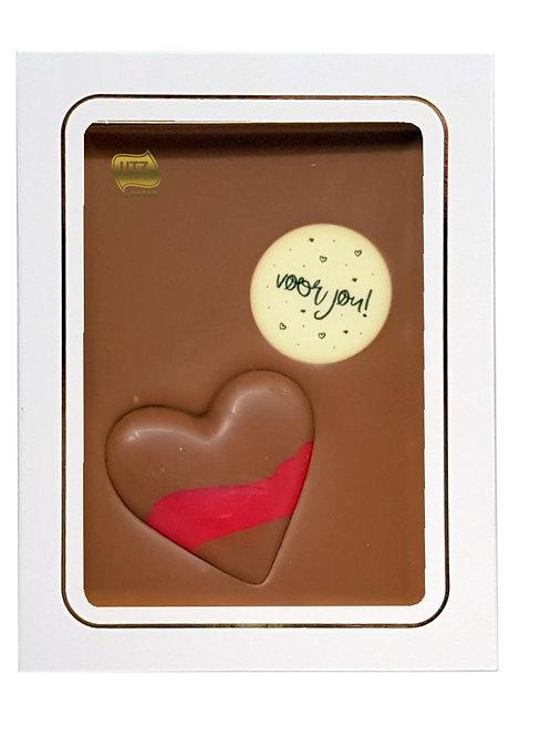 Chocoladetablet 'Voor jou'