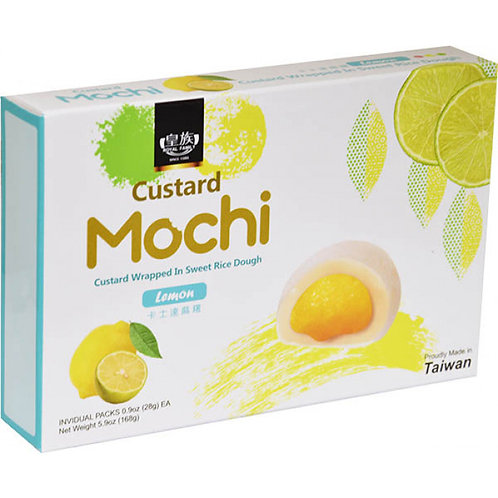 Japanese Custard Mochi Lemon