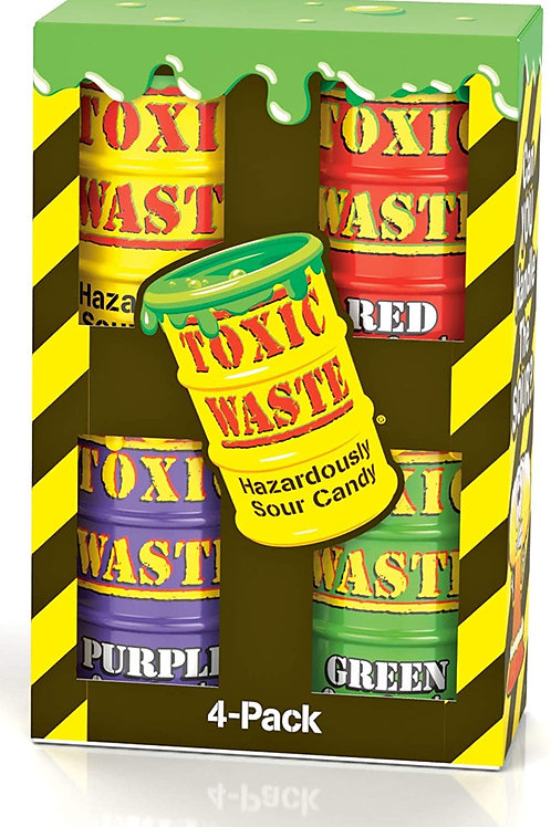 Toxic Waste 4-pack