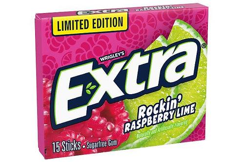 Wrigley's Exra Rockin' Raspberry Lime