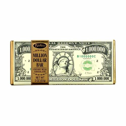 Million Dolar Chocolate bar
