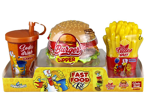 Fast Food Kit Candy