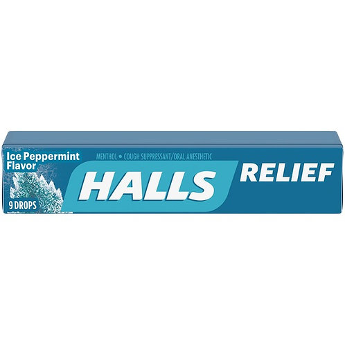 Halls Ice Peppermint Flavour