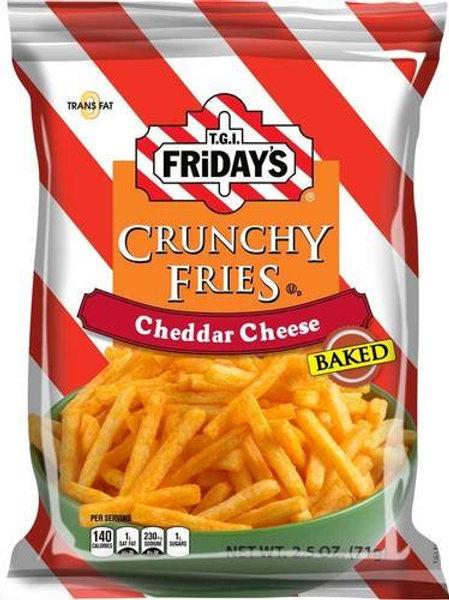 TGI Fridays Crunchy Fries Cheddar