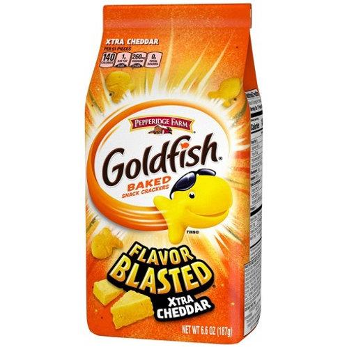 Goldfish Xtra Cheddar Crackers