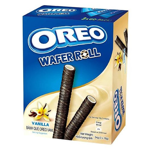 Oreo Wafer Roll Vanilia