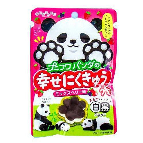PuniFuwa Panda Mixed Berry Gummies