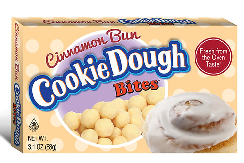 Cookie Dough Cinnamon Bun Bites