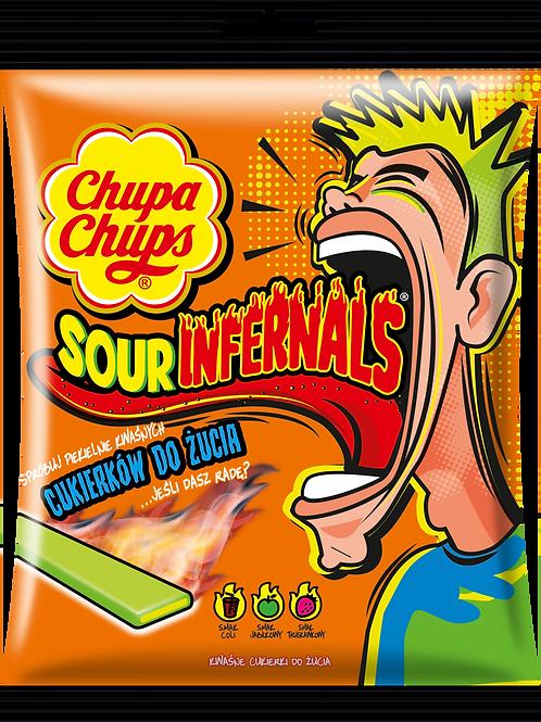 Chupa Chups Sour Infernals Chews