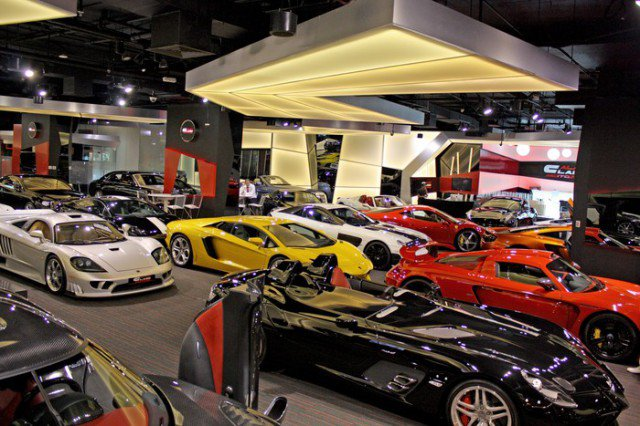 Most Exotic Showrooms In The Uae Petrolhead Arabia The Middle