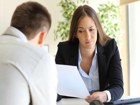 Defeitos: Como mencioná-los  em uma entrevista de emprego?