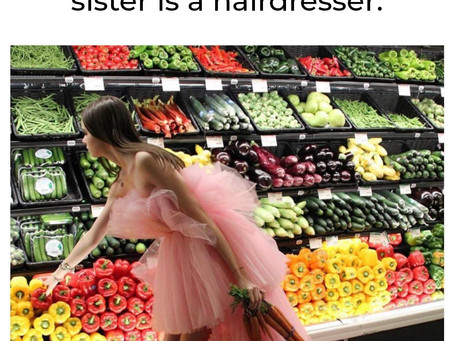 That b*tch at Waitrose who's sister is a hairdresser 😆