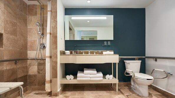 Garden View Accessible Bathroom