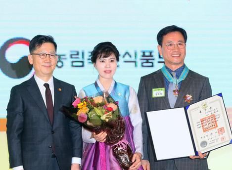 김재서 우리화훼종묘(주) 대표 '제24회 농업인의 날' 은탑산업훈장