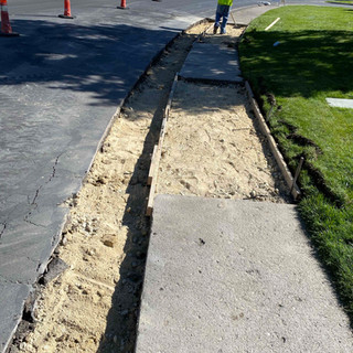 Majestic Oaks Curb and Gutter Replacement